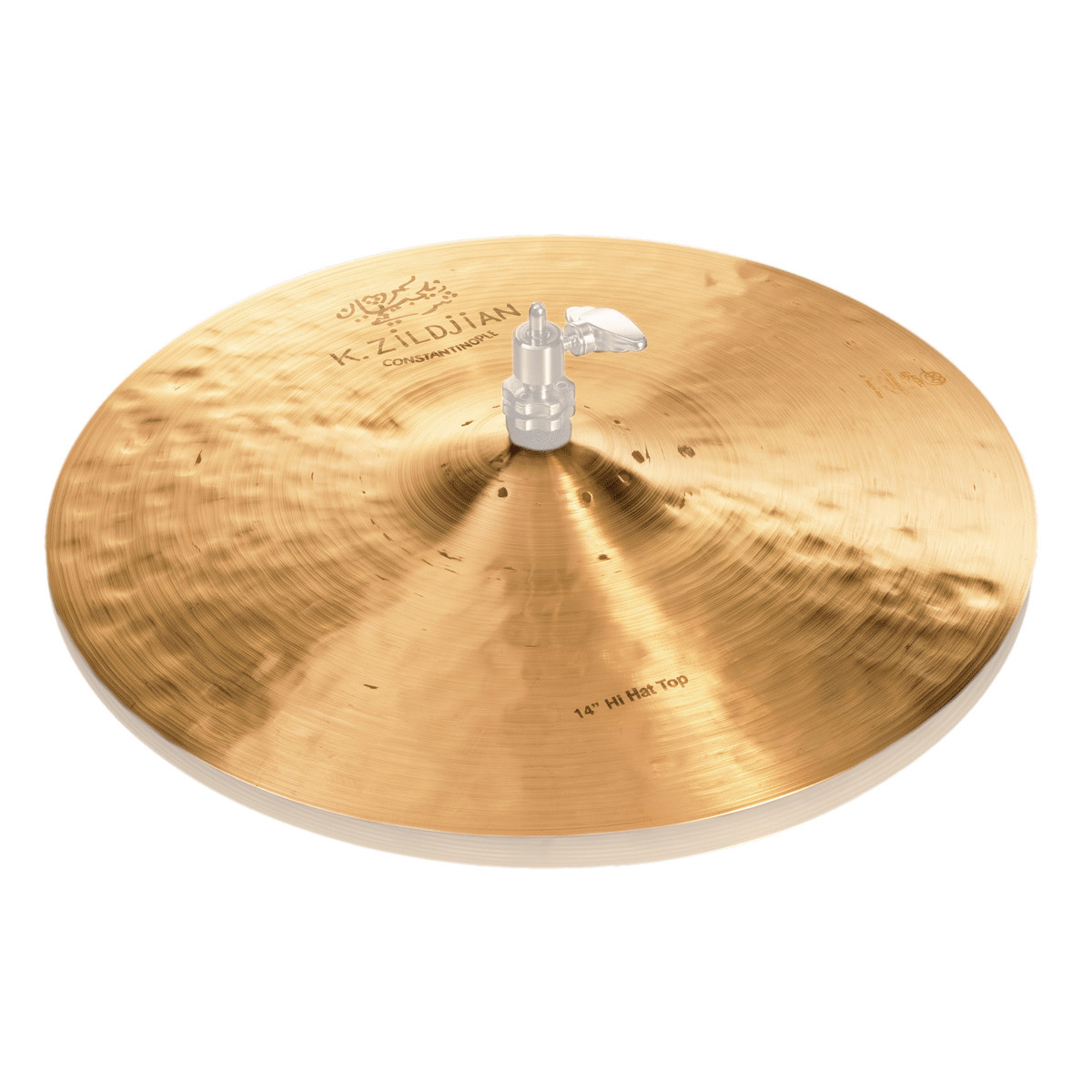 zildjian k constantinople 14 hi hat cymbal top at gear4music. Black Bedroom Furniture Sets. Home Design Ideas