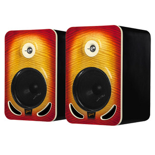 Gibson Les Paul LP8 Reference Monitors, Cherry Burst (Pair)