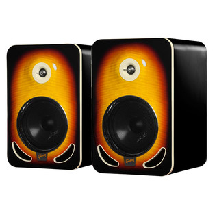Gibson Les Paul LP8 Reference Monitors, Tobacco Burst (Pair)