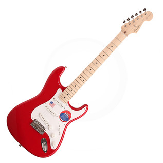 Fender Eric Clapton Stratocaster Electric Guitar, MN Torino Red