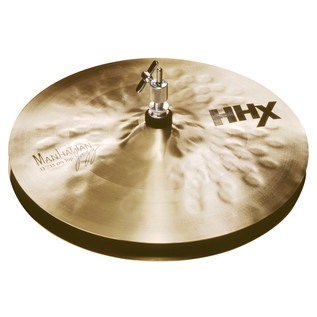 Sabian HHX 13'' Manhattan Jazz Hi-Hat Cymbals, Brilliant Finish