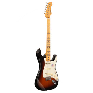 Fender Eric Johnson Stratocaster Electric Guitar, MN 2 Tone Sunburst