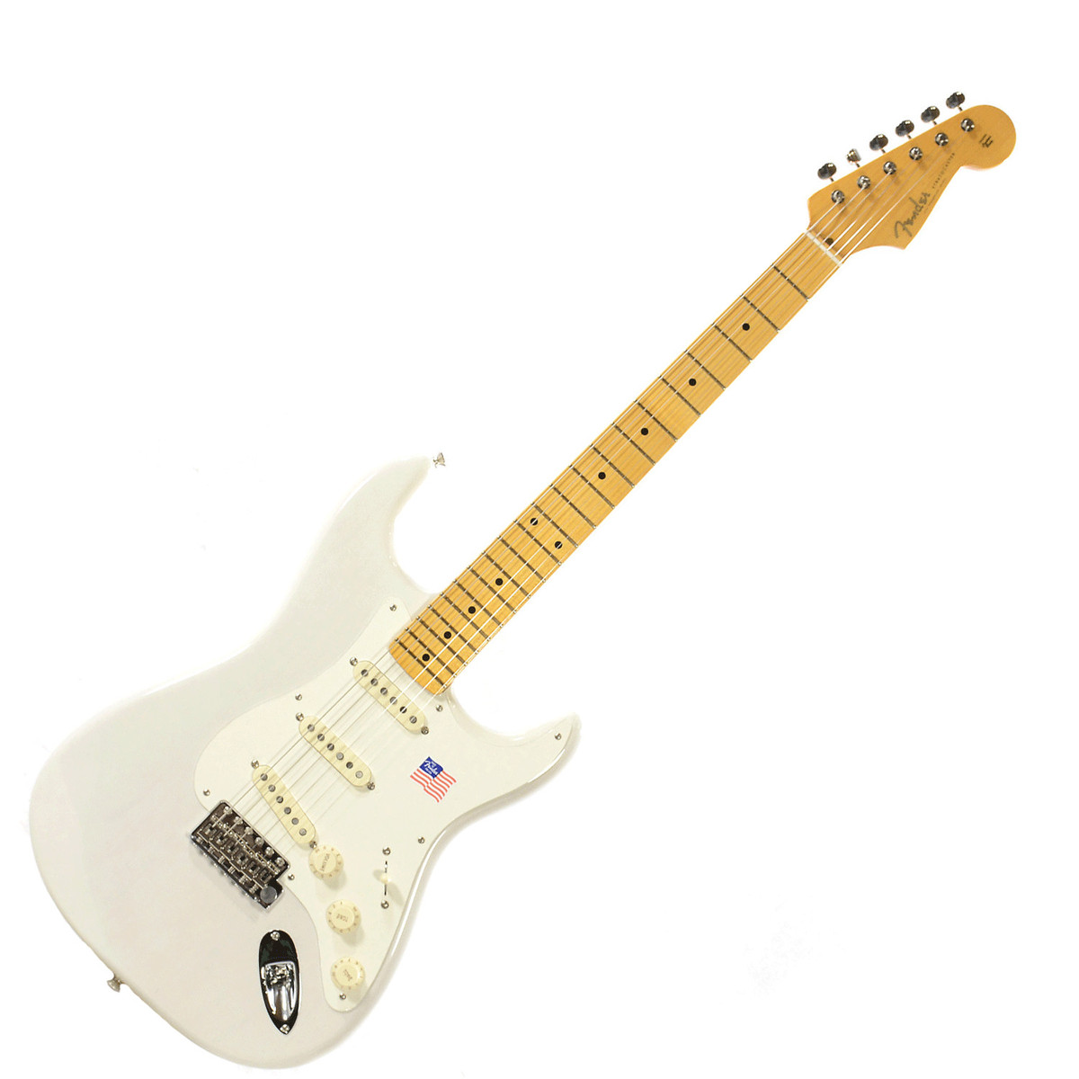 fender eric johnson stratocaster mn white blonde at gear4music. Black Bedroom Furniture Sets. Home Design Ideas