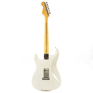 Fender Eric Johnson Stratocaster Electric Guitar, MN White Blonde
