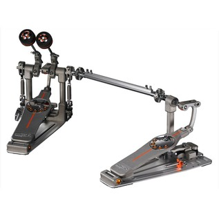Pearl P-3002CL Demon Chain Double Kick Drum Pedal, Left Footed