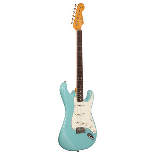 Fender Eric Johnson Stratocaster Guitar, Tropical Turquoise