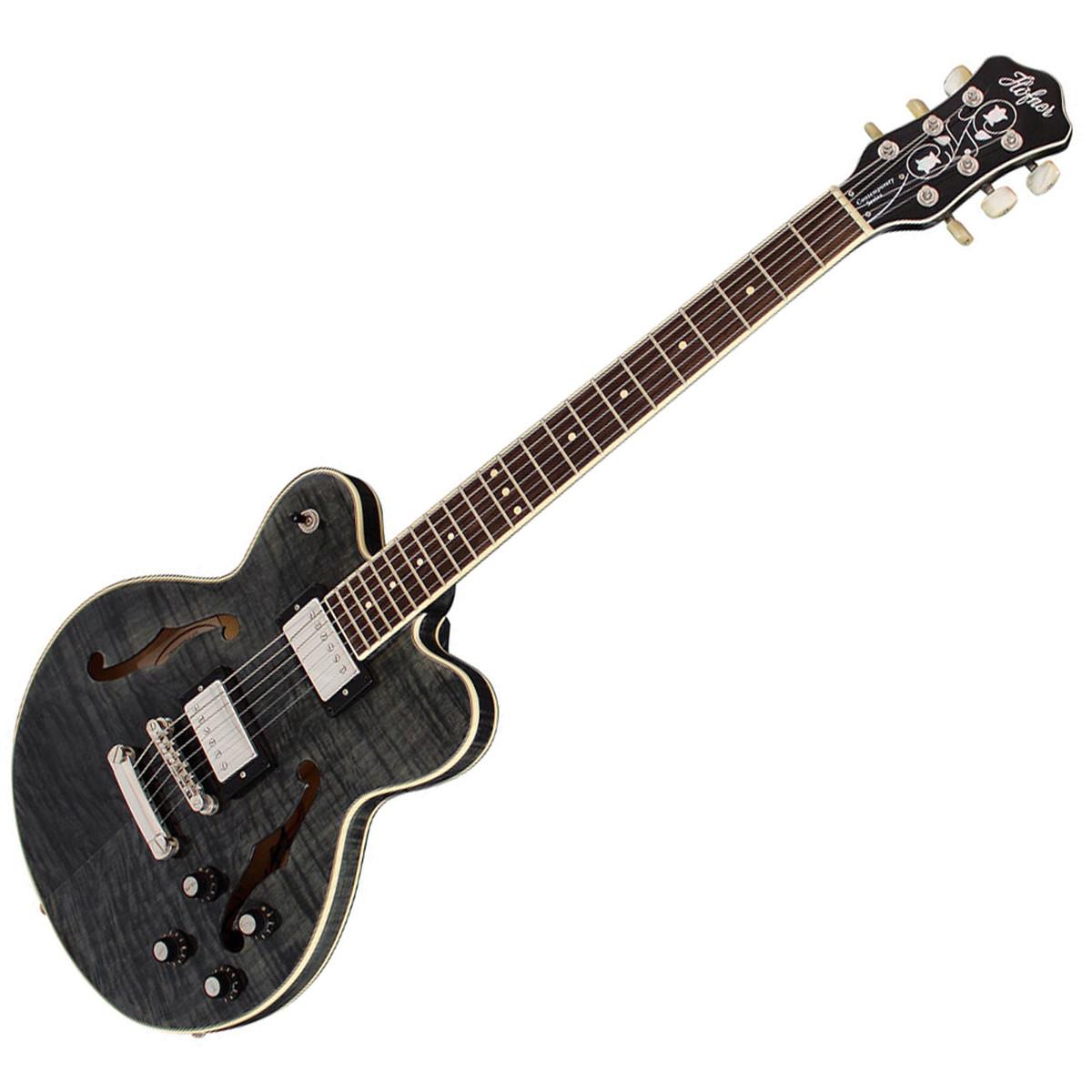 hofner verythin guitare lectrique deluxe noir. Black Bedroom Furniture Sets. Home Design Ideas