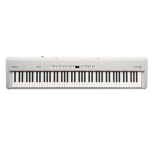 Roland FP-50 SuperNATURAL Digital Piano, White
