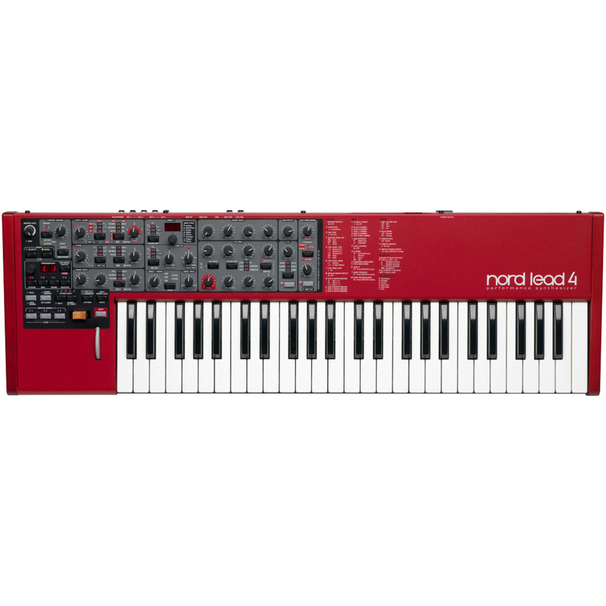 nord lead 4 performance synthesizer keyboard at gear4music. Black Bedroom Furniture Sets. Home Design Ideas