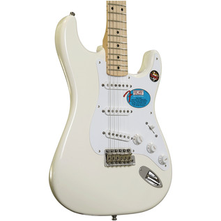 Fender Jimmie Vaughan Tex-Mex Stratocaster Guitar, Olympic White