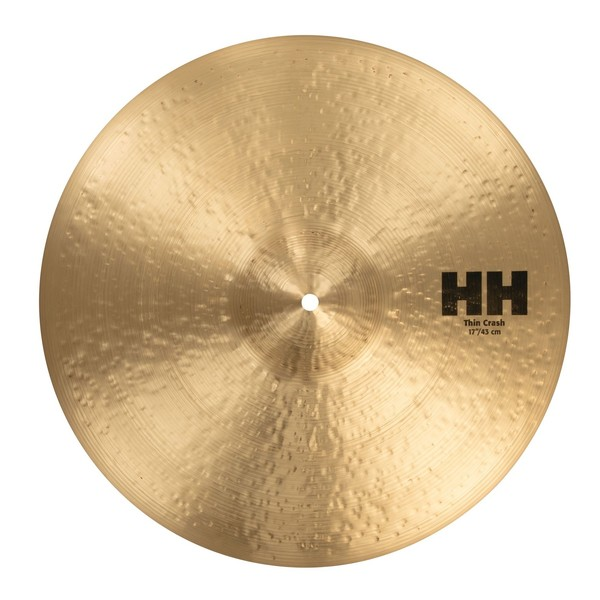 Sabian HH 17'' Thin Crash Cymbal, Natural Finish
