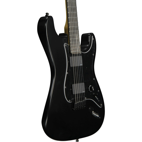 fender jim root stratocaster electric guitar black at gear4music. Black Bedroom Furniture Sets. Home Design Ideas
