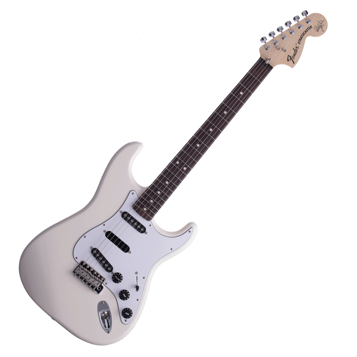 fender ritchie blackmore stratocaster electric guitar olympic white at gear4music. Black Bedroom Furniture Sets. Home Design Ideas
