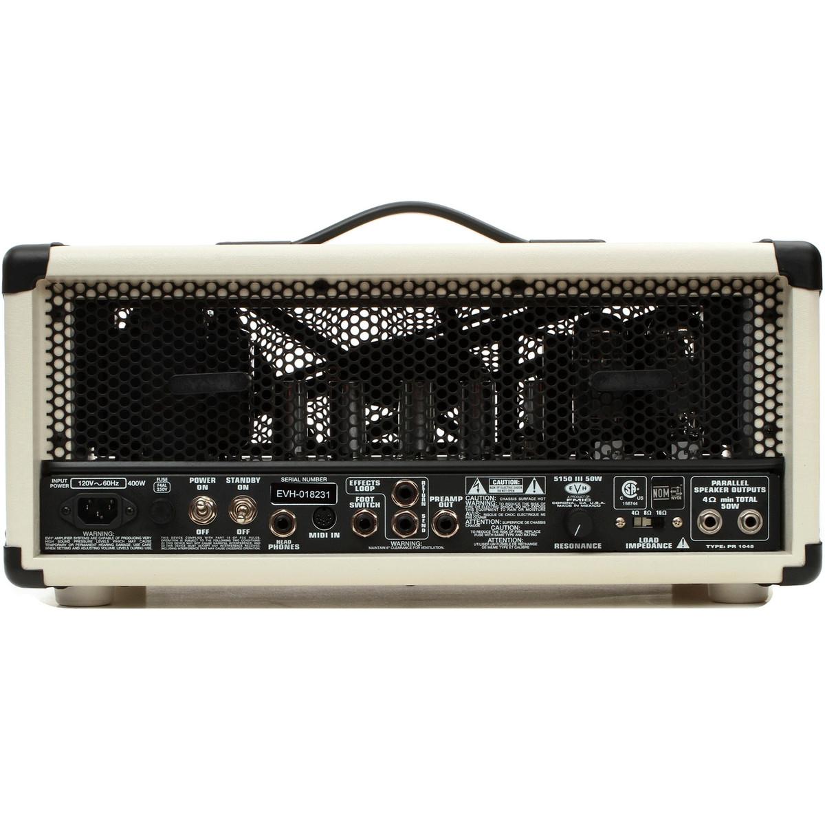 2cd05b0cd27 DISC EVH 5150 III 50W Head
