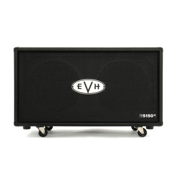 "EVH 5150 III 2 x 12"" Straight Cabinet, Black"