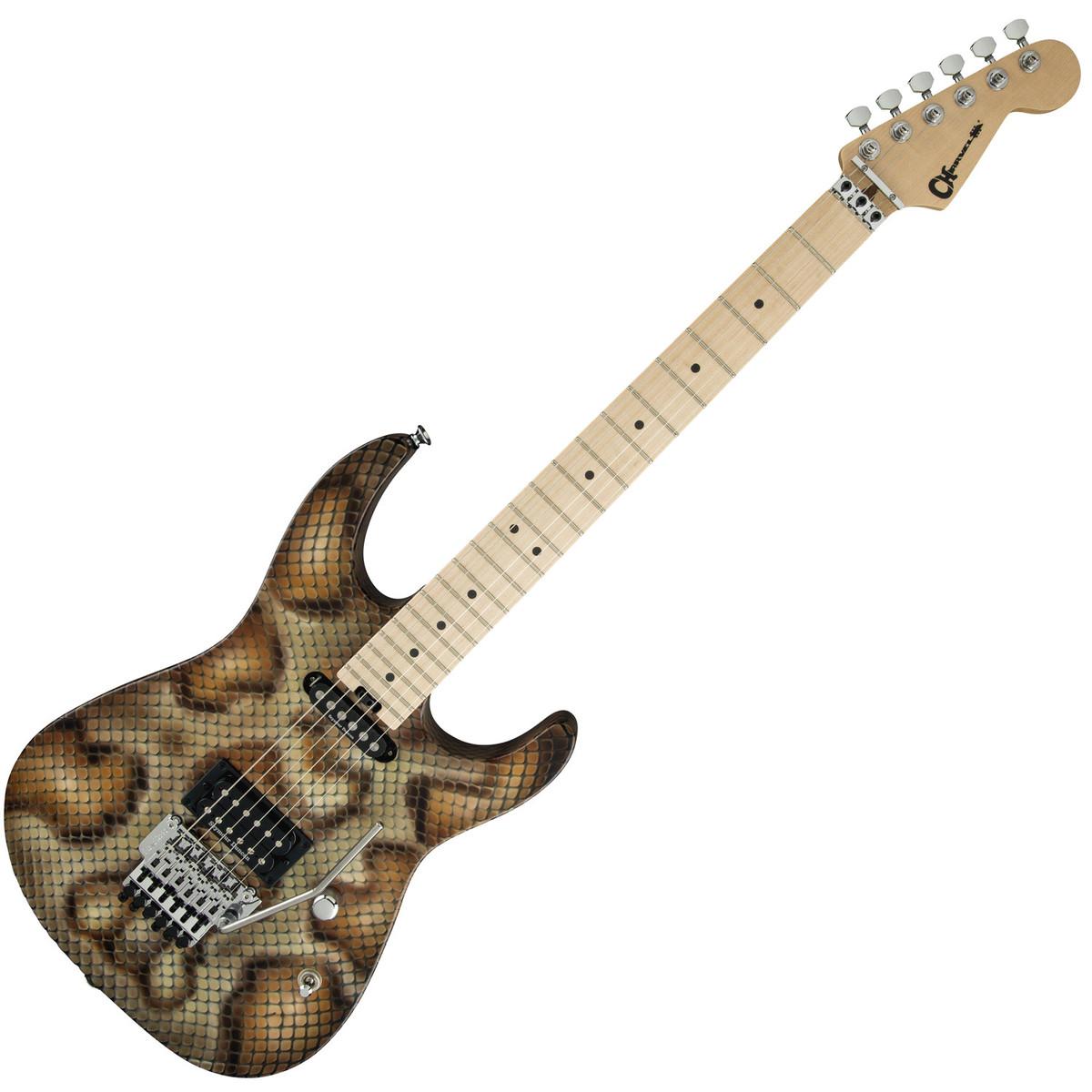 charvel warren demartini pro mod snakeskin at gear4music. Black Bedroom Furniture Sets. Home Design Ideas