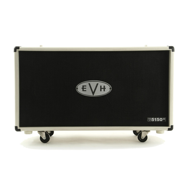 "EVH 5150 III 2 x 12"" Straight Cabinet, Ivory"