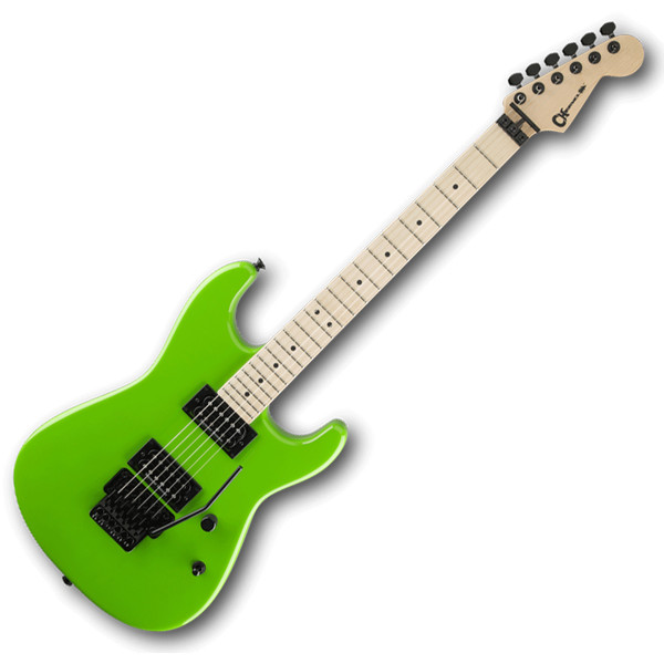 charvel san dimas style 1 hh electric guitar slime green at gear4music. Black Bedroom Furniture Sets. Home Design Ideas