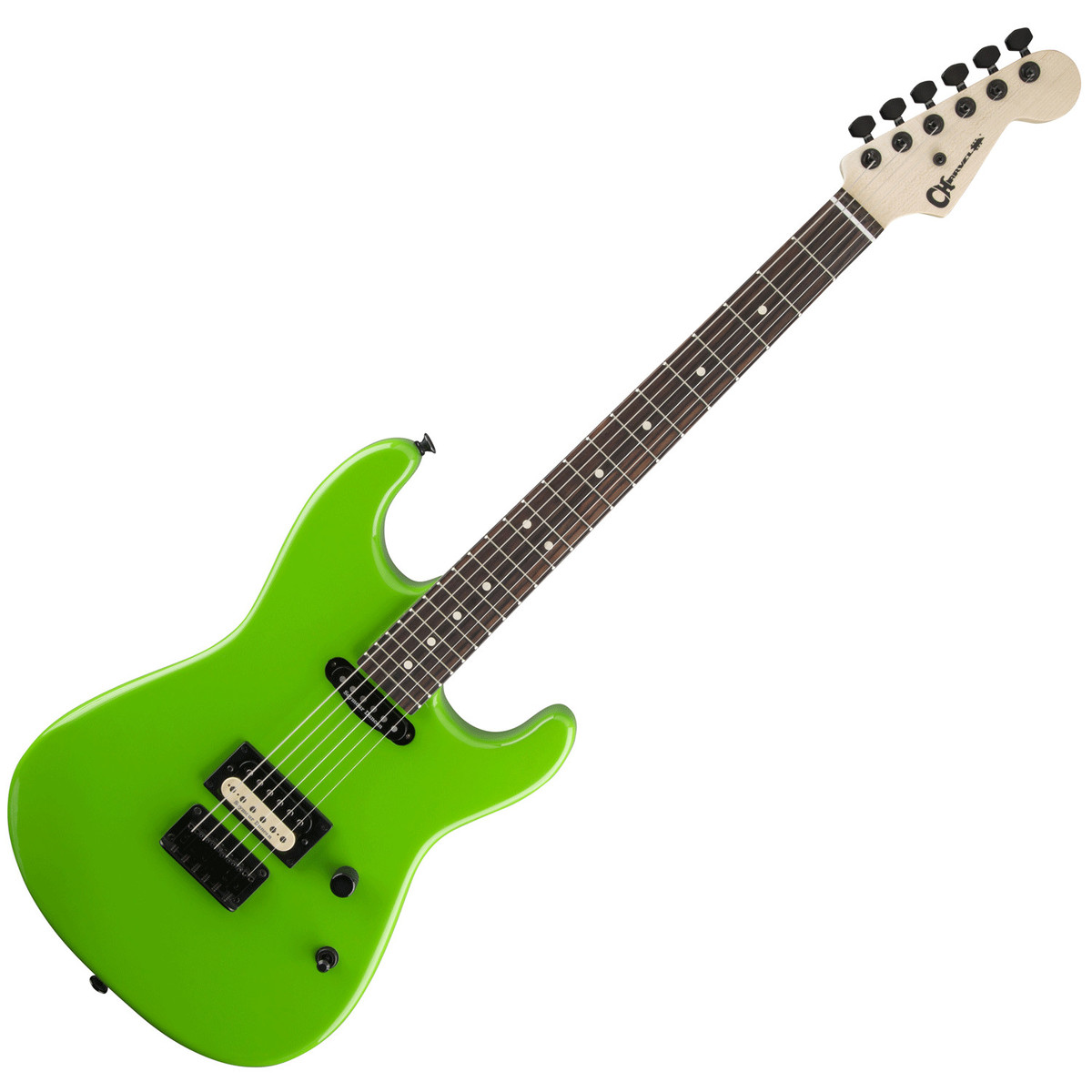 disc charvel san dimas style 1 hs ht electric guitar slime green at gear4music. Black Bedroom Furniture Sets. Home Design Ideas