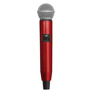 Shure GLX-D SM58/BETA58A Handle Components, Red
