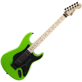 Charvel So-Cal Style 1 HH Electric Guitar, Slime Green