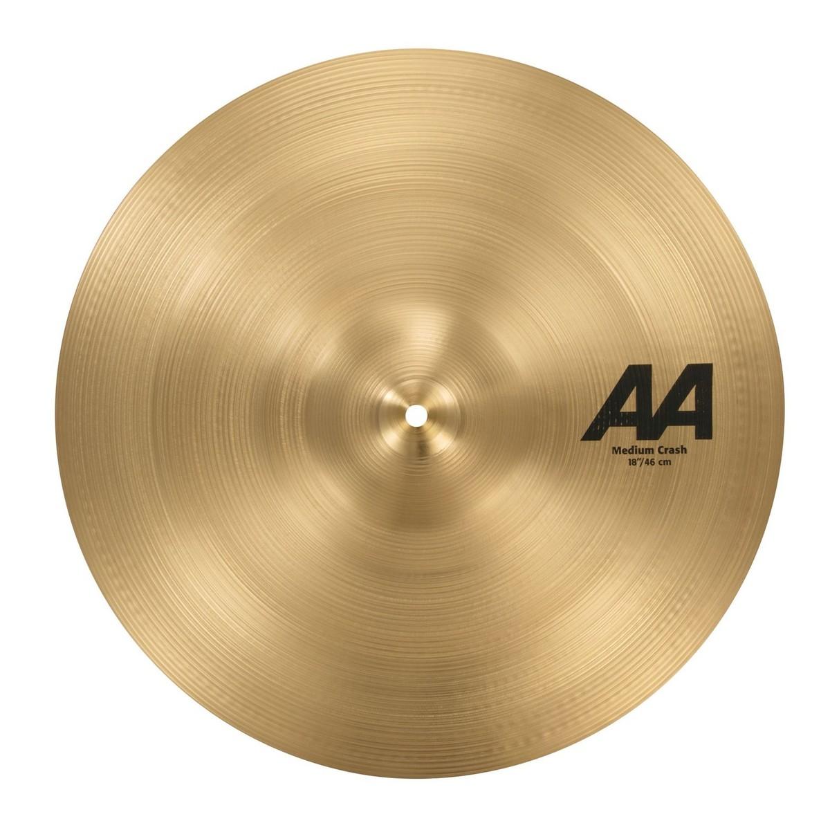 sabian aa 18 39 39 medium crash cymbal at gear4music. Black Bedroom Furniture Sets. Home Design Ideas