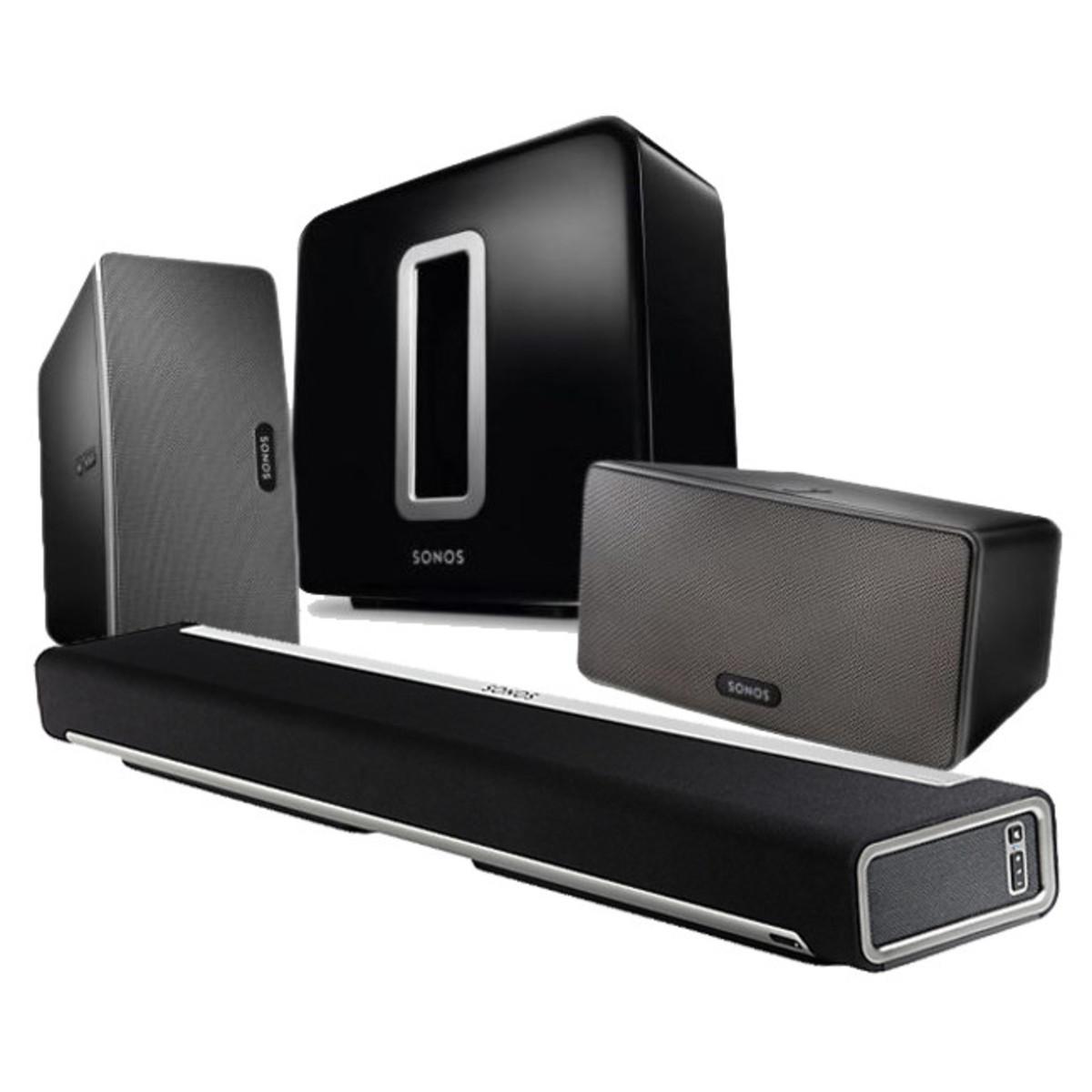 sonos playbar play 3 y sub 5 1 pack cine en casa. Black Bedroom Furniture Sets. Home Design Ideas