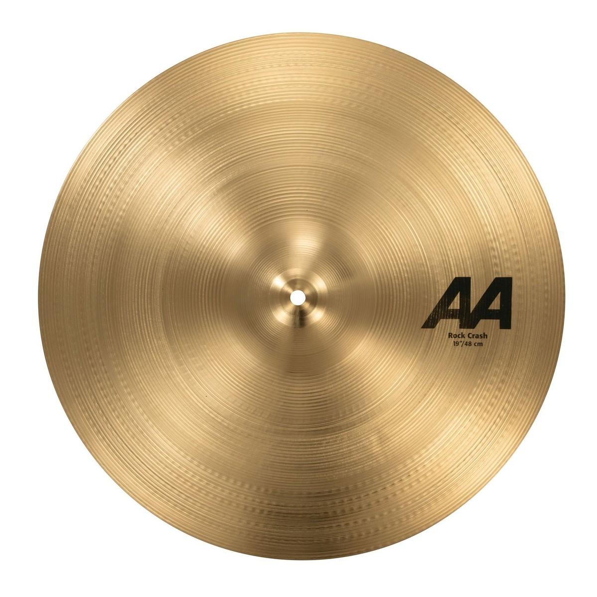 sabian aa 19 39 39 rock crash cymbal at gear4music. Black Bedroom Furniture Sets. Home Design Ideas