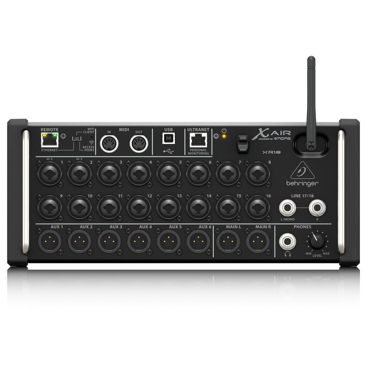 Behringer X Air Xr18 Digital Mixer At Gear4music