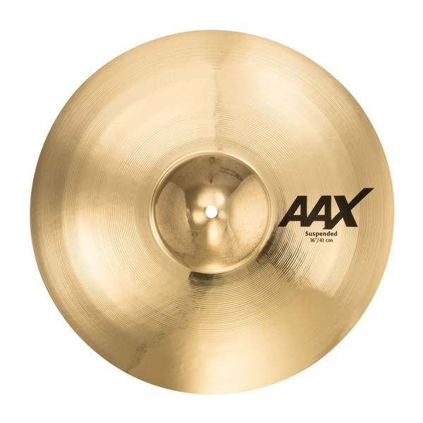 "Sabian AAX 16"" Suspended Cymbal, Brilliant Finish"