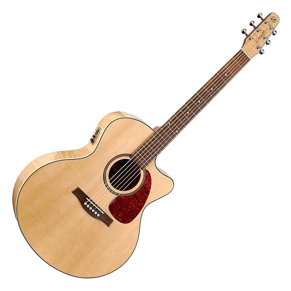 Seagull Performer CW Mini Jumbo QI Electro Acoustic Guitar with Bag