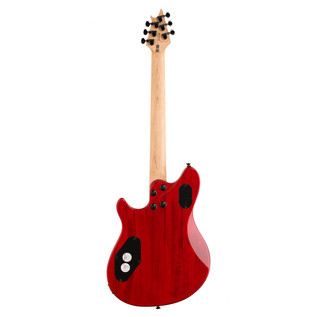 EVH Wolfgang WG-T Standard Electric Guitar, Transparent Red