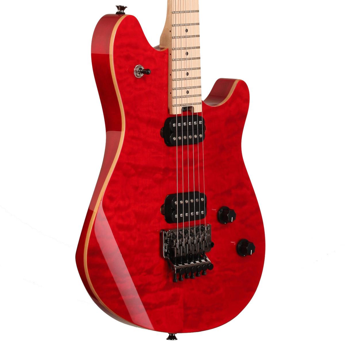 evh wolfgang wg standard electric guitar transparent red at gear4music. Black Bedroom Furniture Sets. Home Design Ideas