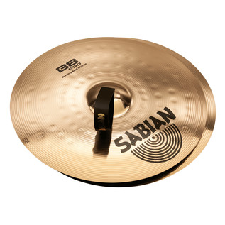 Sabian B8 Pro 16'' Marching Band Cymbals, Brilliant Finish