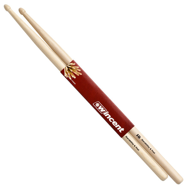 Wincent Hickory Standard 5B Drumsticks