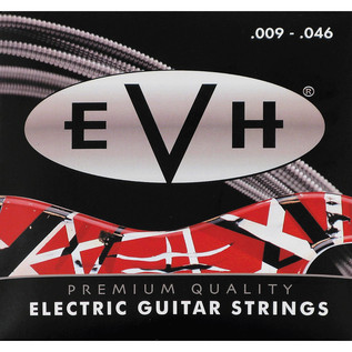 EVH Premium Nickel Electric Guitar Strings, 9 - 46 Gauge