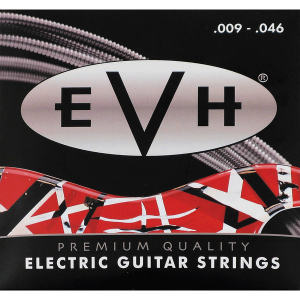 EVH Premium Nickel Electric Guitar Strings, 9 - 46 Gauge