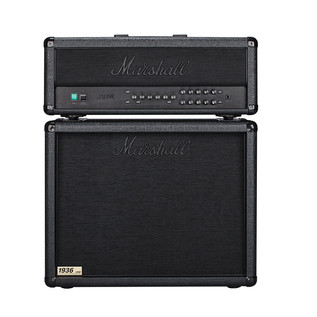 Marshall JVM205H Half Stack, Stealth Black - G4M Exclusive