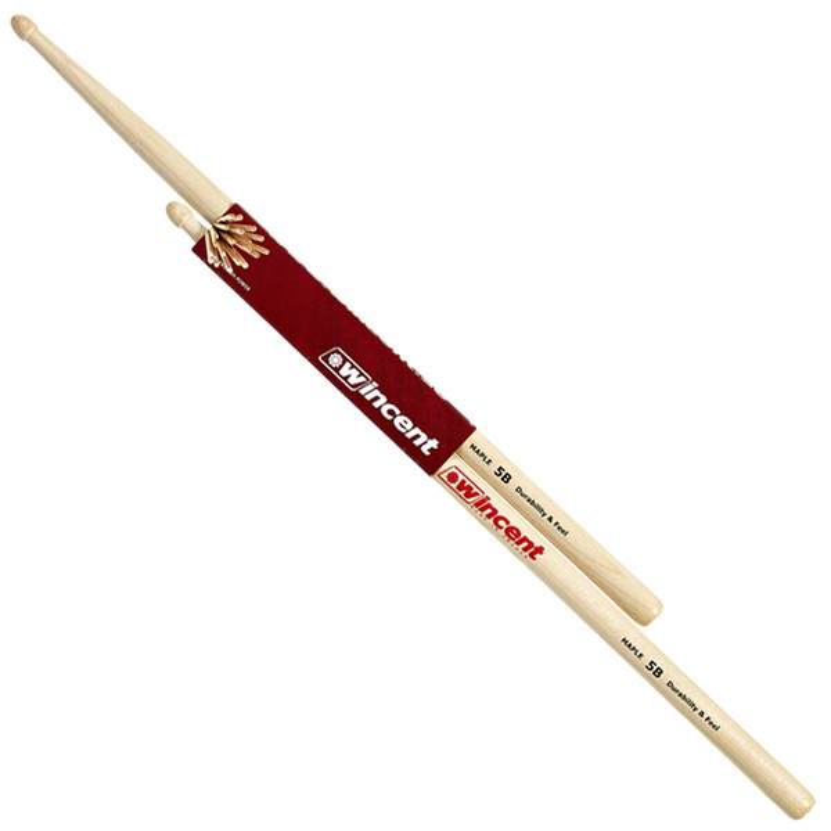 Wincent Maple Standard 5B Drumsticks