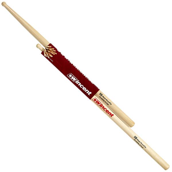 Wincent Maple 5B Round Tip Drumsticks