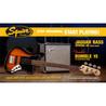 Squier Stop Dreaming, Start Playing Jaguar Bass SS Pack, Sunburst