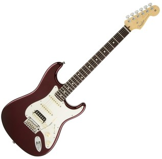 Fender American Standard Strat Shawbucker Electric Guitar, RW Bordeux