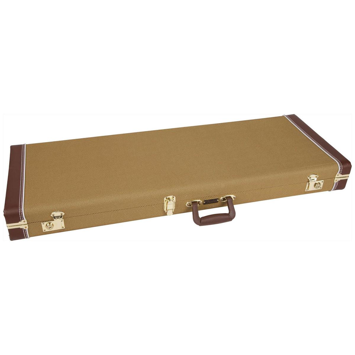 fender pro stratocaster telecaster guitar case tweed at gear4music. Black Bedroom Furniture Sets. Home Design Ideas