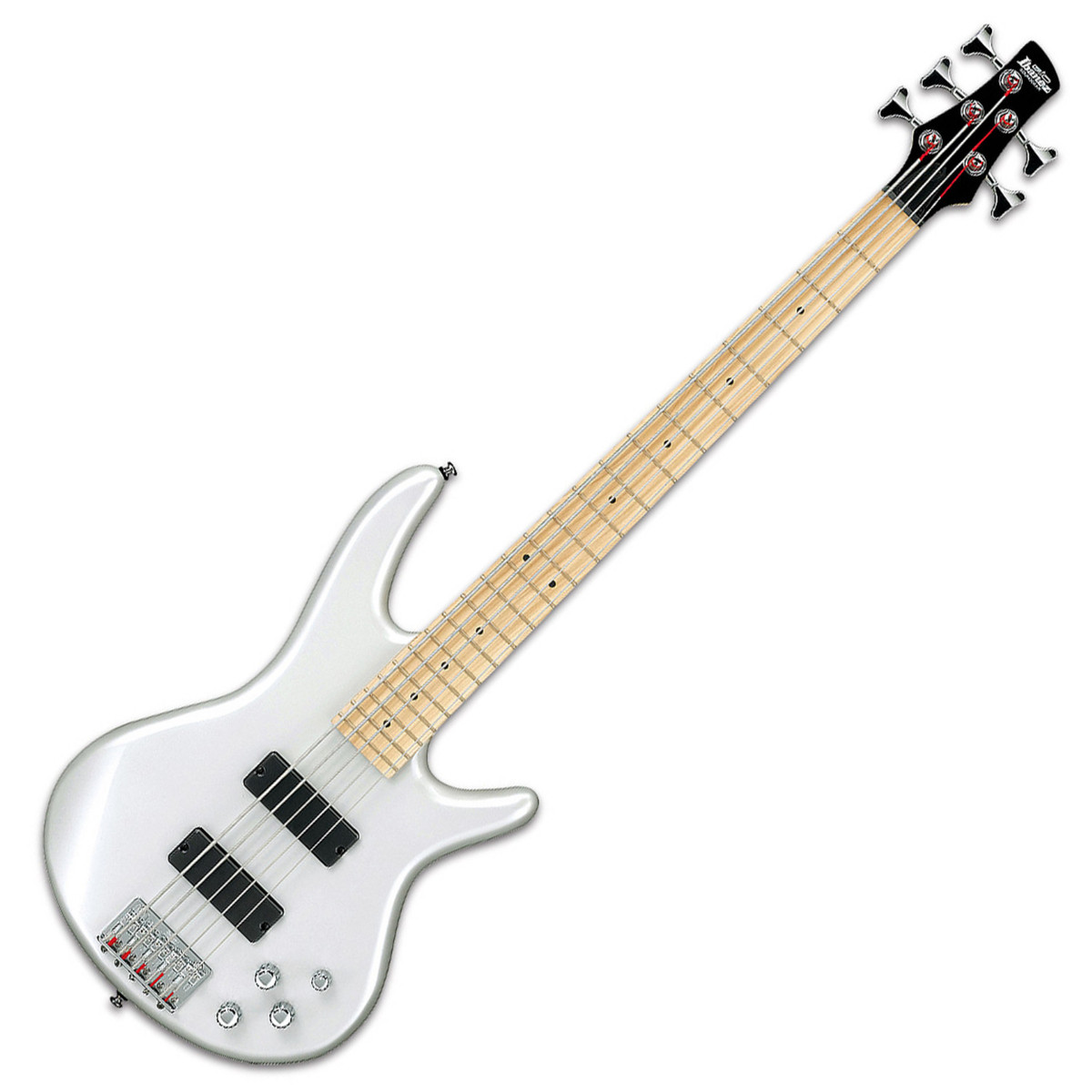 ibanez gsr205b gio 5 string bass guitar pearl white nearly new at. Black Bedroom Furniture Sets. Home Design Ideas