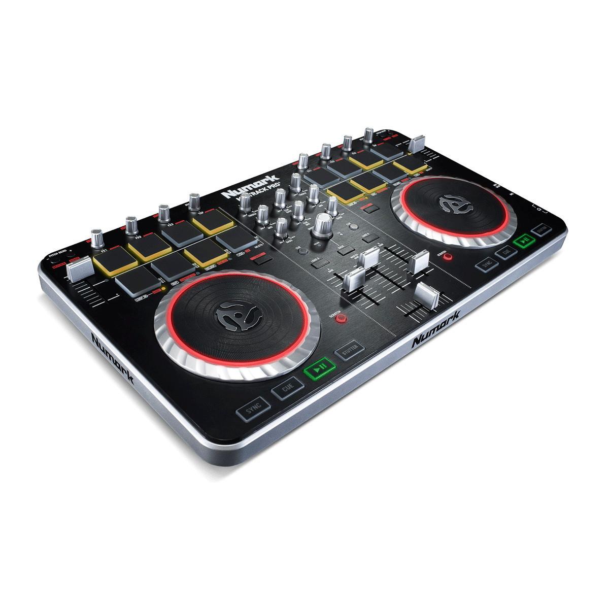 DISCNumark Mixtrack ProII 2Channel DJ Controller, Free Prime Loops Pk
