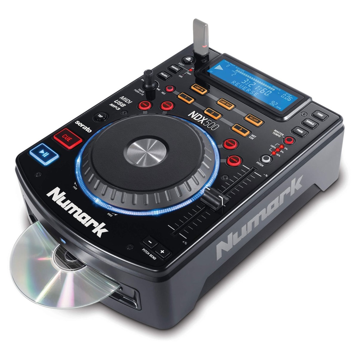 Click to view product details and reviews for Numark Ndx500 Usb Cd Media Player And Software Controller.