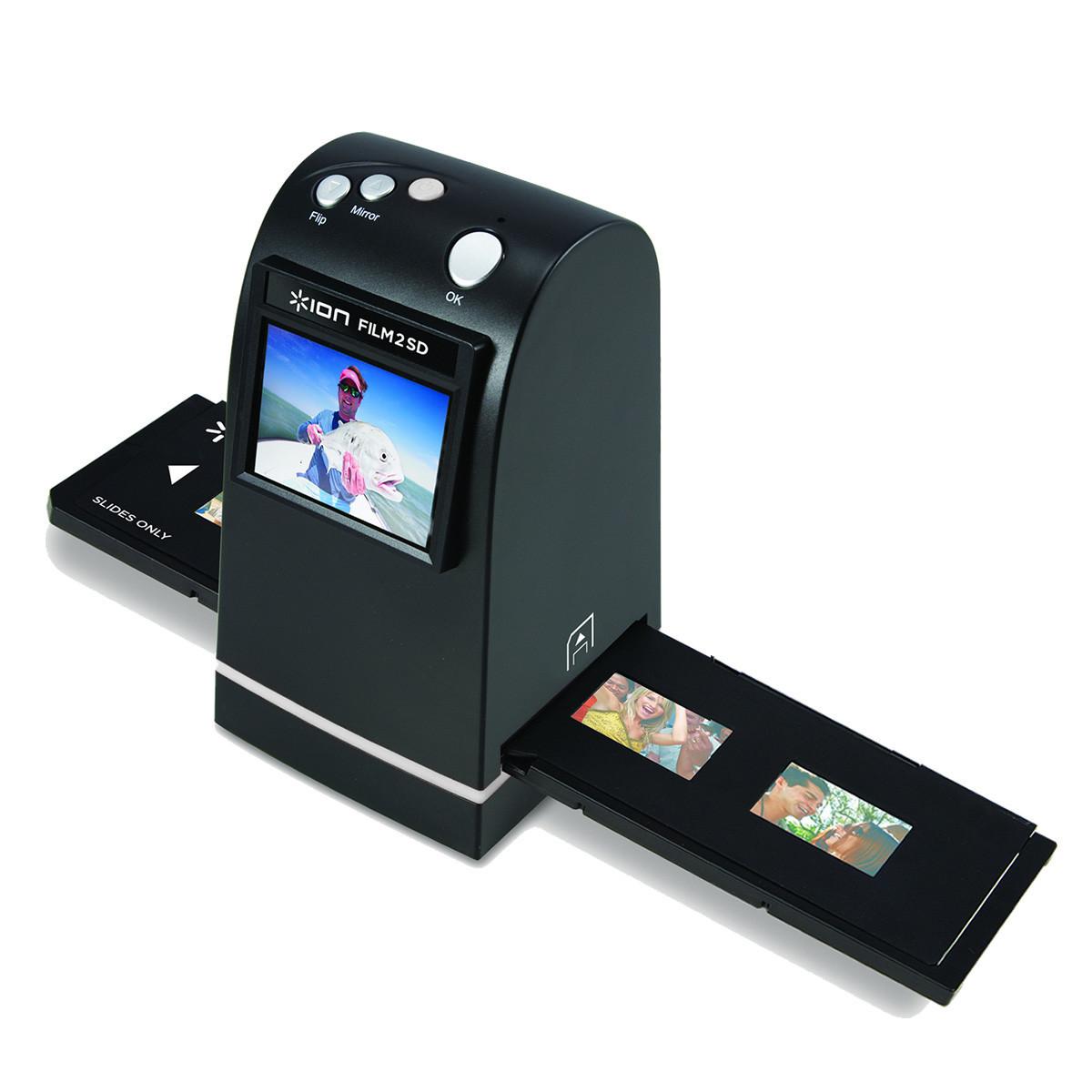 ION Film 2 SD MK2 35mm Film + Slide Scanner - Nearly New