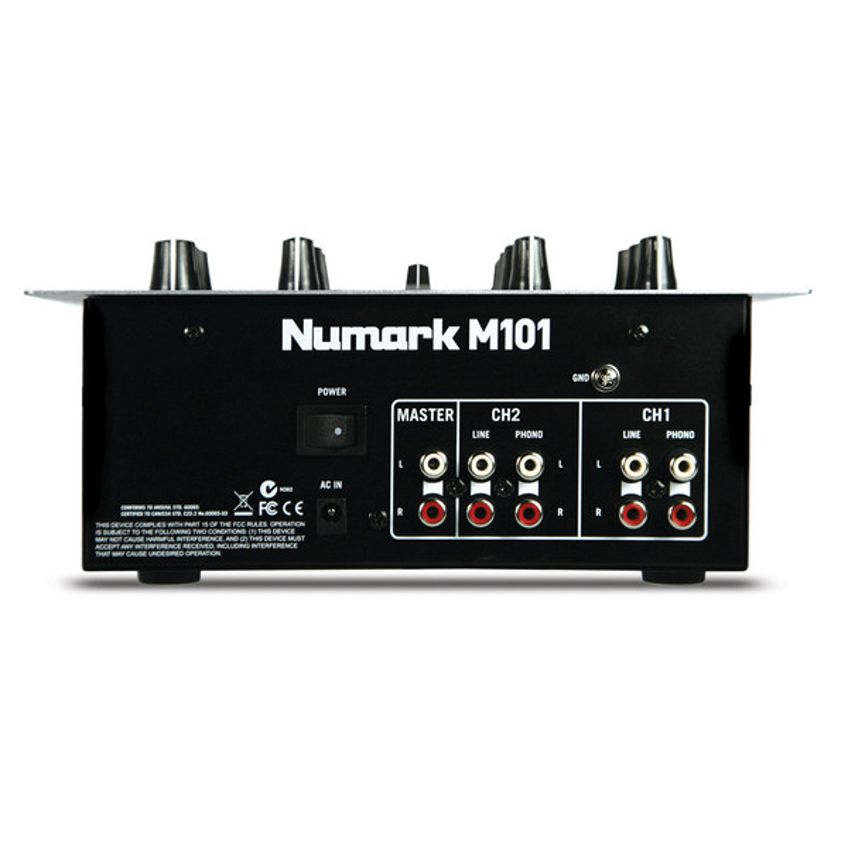 Numark M101 Compact DJ Mixer
