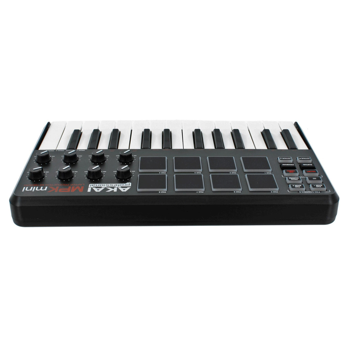 akai pro mpk mini usb midi keyboard with drum pads nearly new at gear4music. Black Bedroom Furniture Sets. Home Design Ideas