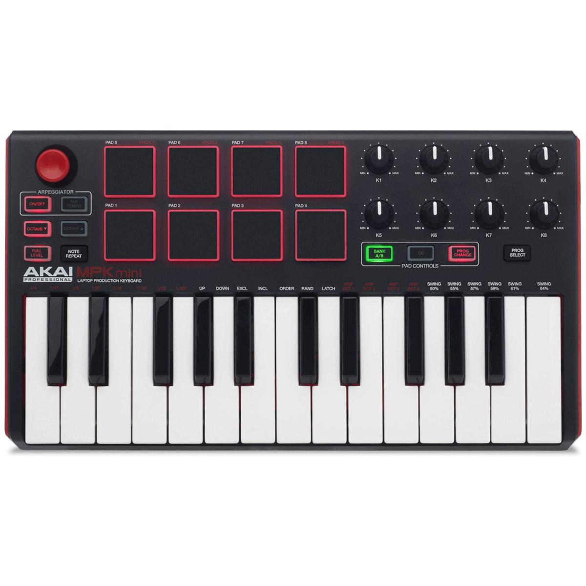 Akai MPK Mini MK 2 Laptop Production Keyboard